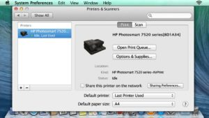How to Establish a Connection between HP Printer and Mac