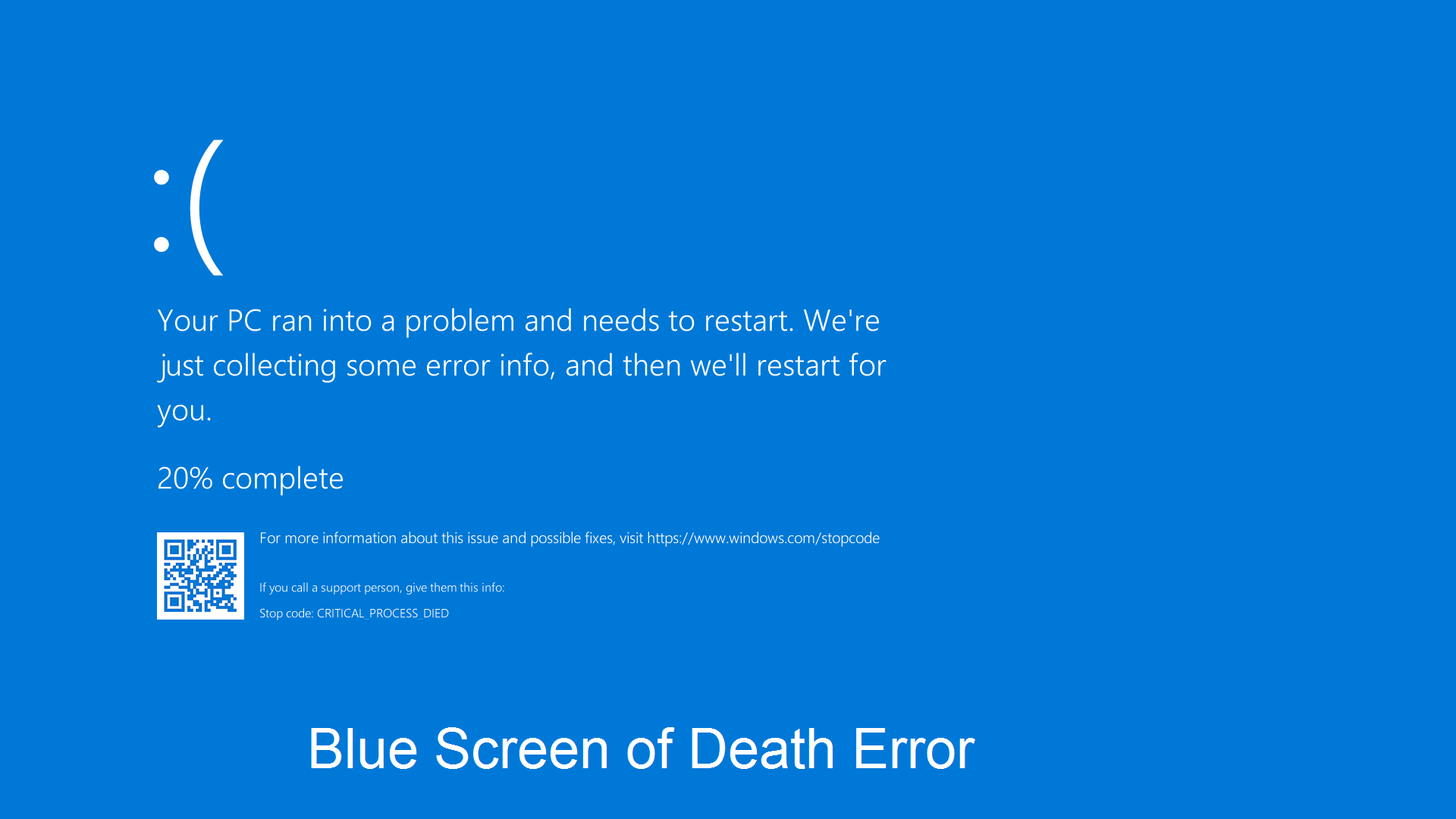 Blue Screen of Death Error: A Comprehensive Guide for HP Laptop